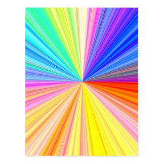 ColorWheel Sparkle - Enjoy n Share Joy Post Cards