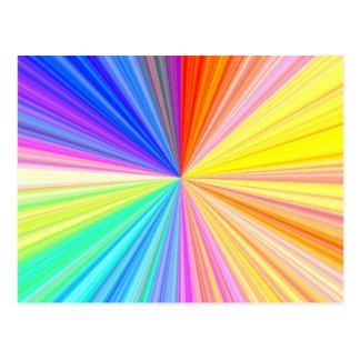 ColorWheel Sparkle - Enjoy n Share Joy Postcards
