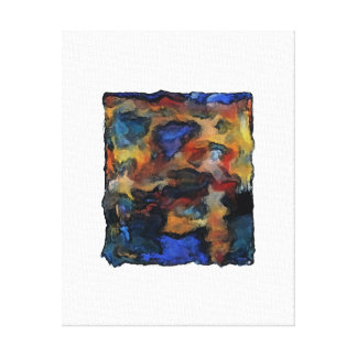 Colorz ~Wrapped Canva Abstract Modern Contemporary Canvas Print