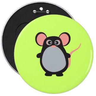*Colossal, botón redondo de 6 pulgadas Pin
