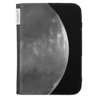 Colossal Cyclone Swirls near Martian North Pole Kindle Cases