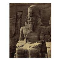 Colossal Figure, Abu Sunbul, Egypt circa 1856 Postcard
