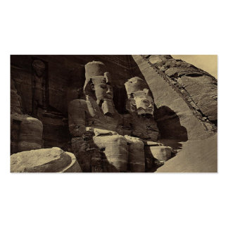 Colossal Figures, Abu Sunbul, Egypt Double-Sided Standard Business Cards (Pack Of 100)
