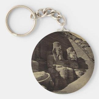 Colossal Figures Abu Sunbul Egypt Key Chains