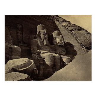Colossal Figures, Abu Sunbul, Egypt Post Cards