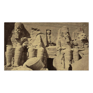 Colossal Figures, the Great Temple at Abu Sunbul Double-Sided Standard Business Cards (Pack Of 100)