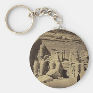 Colossal Figures the Great Temple at Abu Sunbul Keychain