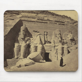 Colossal Figures, the Great Temple at Abu Sunbul Mouse Pad