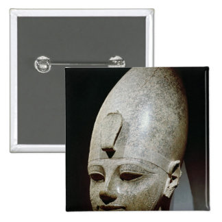 Colossal head of Amenhotep III, from al-Qurnah Pinback Button