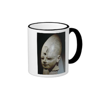 Colossal head of Amenhotep III, from al-Qurnah Ringer Coffee Mug