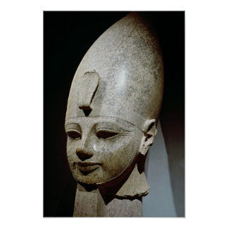 Colossal head of Amenhotep III, from al-Qurnah Poster