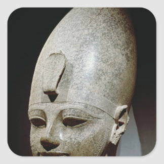 Colossal head of Amenhotep III, from al-Qurnah Square Sticker