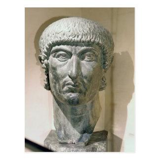 Colossal head of Emperor Constantine I Postcard
