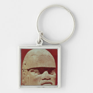 Colossal head Olmec Key Chains