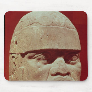 Colossal head, Olmec Mouse Pad