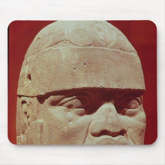 Colossal head, Olmec Mouse Pad