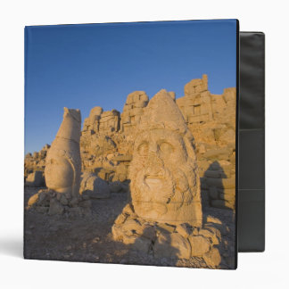 Colossal head statues of Gods guarding the 2 Vinyl Binder