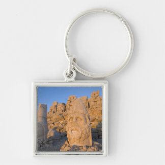 Colossal head statues of Gods guarding the Key Chain