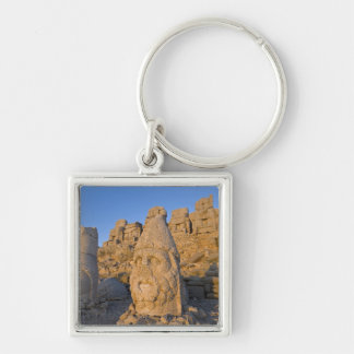 Colossal head statues of Gods guarding the Keychain