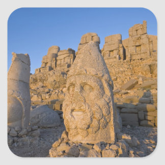 Colossal head statues of Gods guarding the Sticker