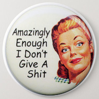 COLOSSAL Humorous, 6 inch Backpack Pins buttons