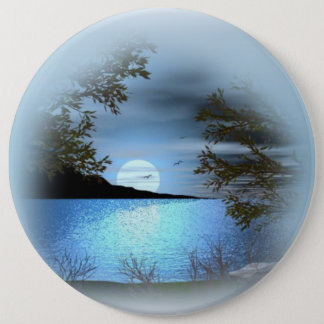 COLOSSAL Lake Beach, 6 inch Pins buttons