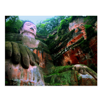 Colossal Le Shan Buda Postales