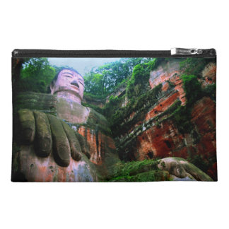 Colossal Le Shan Buddha Travel Accessory Bag