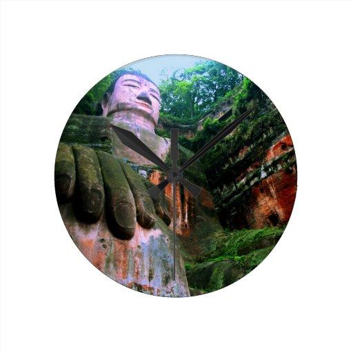 Colossal Le Shan Buddha Clocks