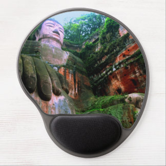 Colossal Le Shan Buddha Gel Mouse Pad