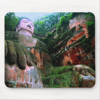 Colossal Le Shan Buddha Mouse Pad