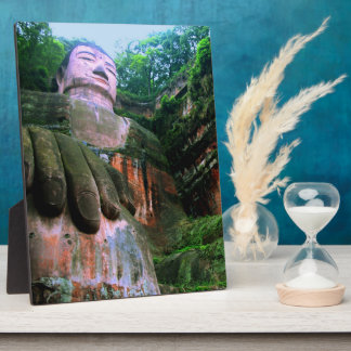 Colossal Le Shan Buddha Photo Plaque