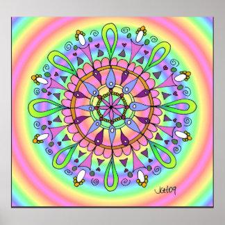 Colossal Mandala Poster