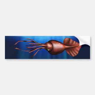 Colossal Squid Bumper Sticker