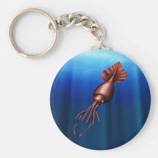 Colossal Squid Keychain