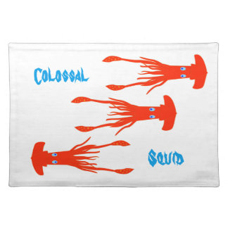 Colossal squid placemat