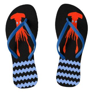 Colossal Squid Sandals Flip Flops