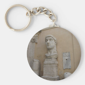 Colossal statue of Constantine Keychain