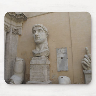 Colossal statue of Constantine Mouse Pad