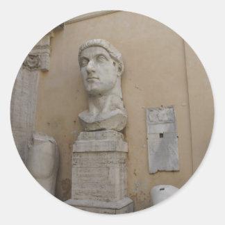 Colossal statue of Constantine Sticker