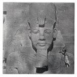 Colossal statue of Ramesses II at Abu Simbel, 1850 Tiles