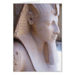 Colossal statue of Ramesses II at Memphis, Egypt Greeting Cards