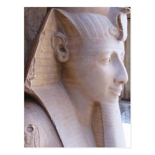 Colossal statue of Ramesses II at Memphis, Egypt Post Cards
