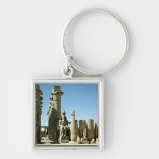 Colosses Ramesses II and Pylon of Amenophis Key Chain