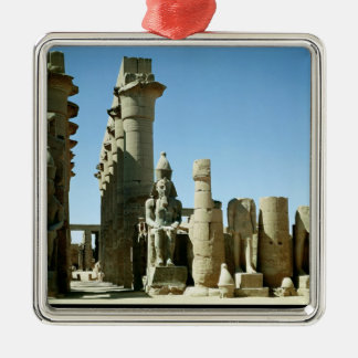 Colosses Ramesses II  and  Pylon of Amenophis Metal Ornament