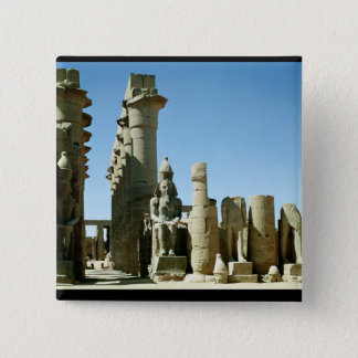 Colosses Ramesses II  and  Pylon of Amenophis Pinback Button