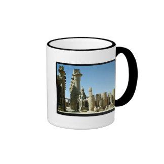 Colosses Ramesses II  and  Pylon of Amenophis Ringer Coffee Mug