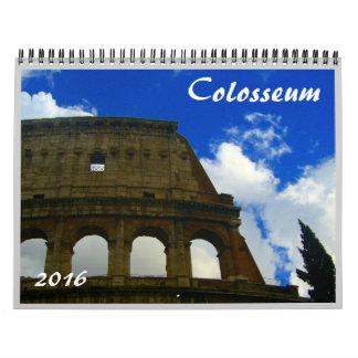colosseum 2016 calendar