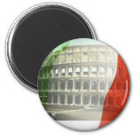 Colosseum 2 Inch Round Magnet