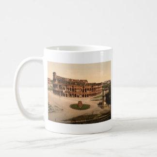 Colosseum and Meta Sudans, Rome, Italy Coffee Mug